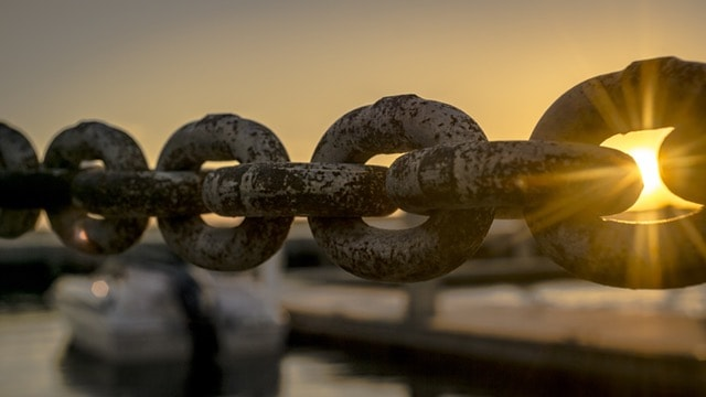 Vulnerability makes you stronger, like this strong chain