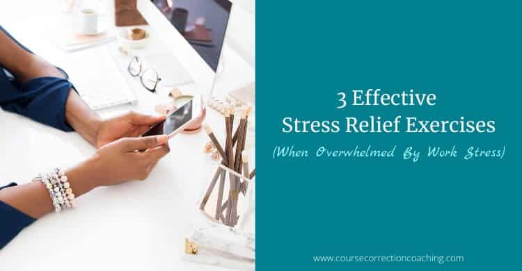 3 Stress Relief Exercises Featured Image