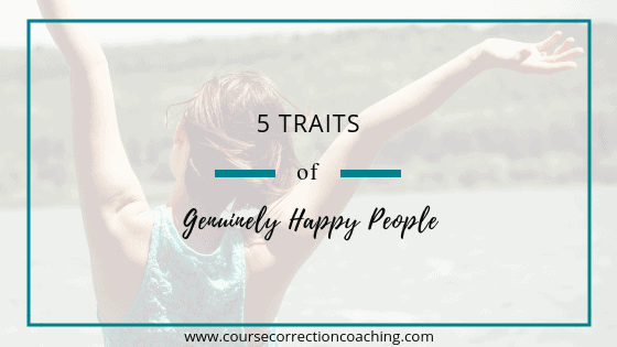 Title Cover for Article about Traits of Genuinely Happy People