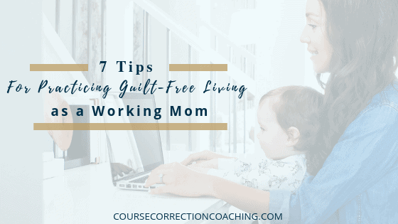 7 Tips for Guilt-Free Living Blog Template Picture