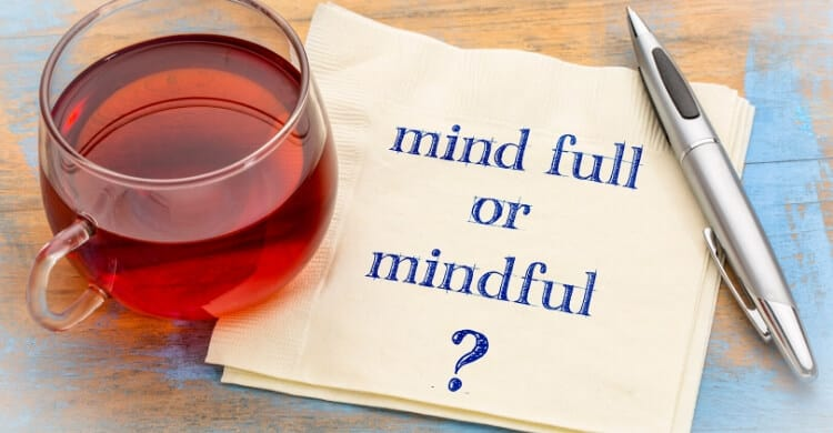 Mindful or mind full picture