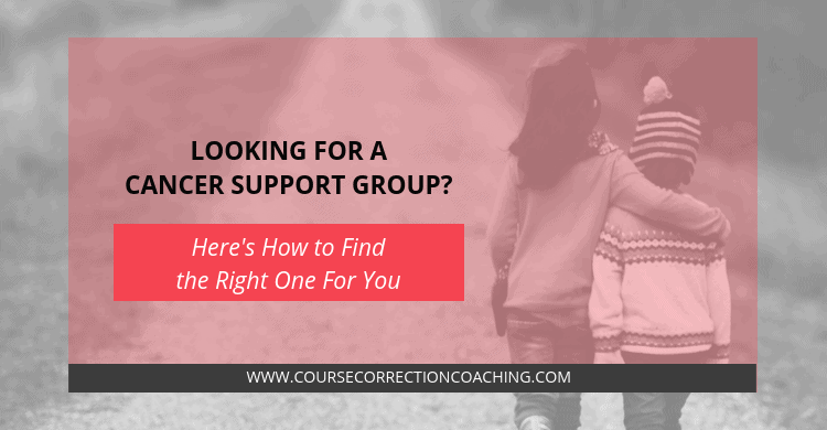How to Find the Right Cancer Support Group Title Image