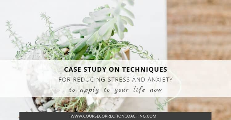 Case Study of Techniques for Reducing Stress and Anxiety Title Image