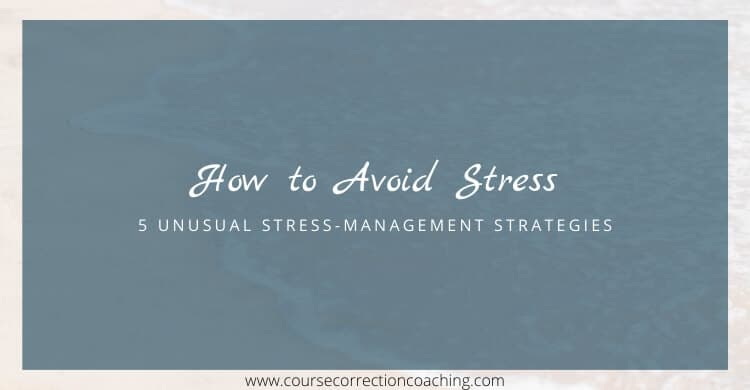 Title Picture for How to Avoid Stress Article