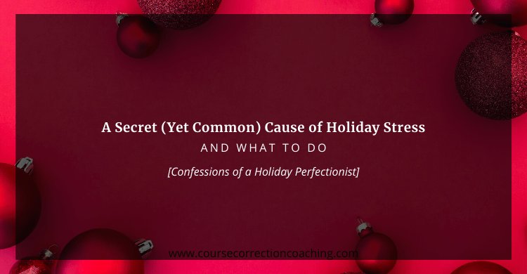 Title Image for Article About Secret Cause of Holiday Stress