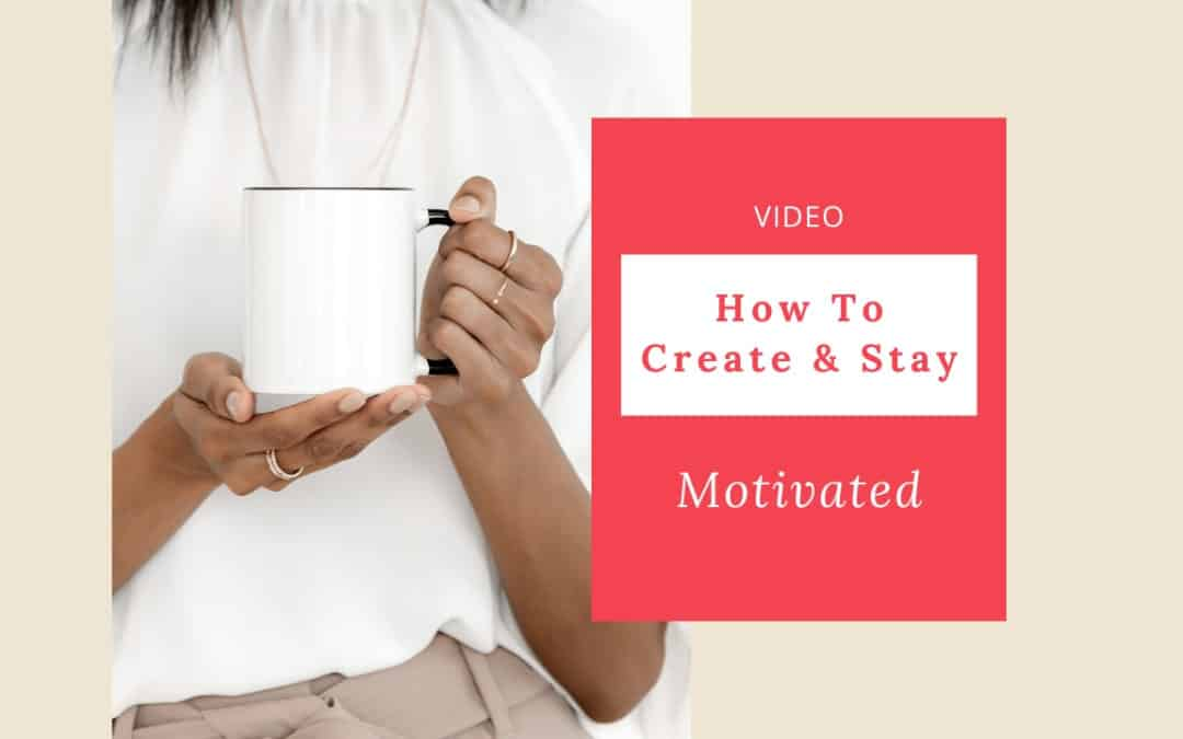How To Create Momentum and Stay Motivated (VIDEO)